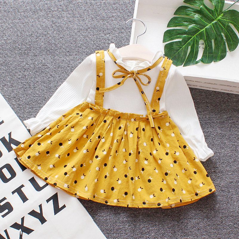 Baby Girl 39 s Dress Summer Dress Cute Princess Dress Cotton Long Sleeve Dress for Sweety Baby Girl in Dresses from Mother amp Kids