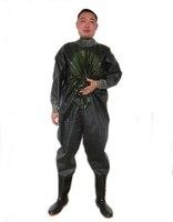 1 мм ПВХ Для мужчин дышащий заброды с Сапоги и ботинки для девочек Fly Рыбалка куликов чулок ног waadschoenen respirant cuissarde де Пече PESCA