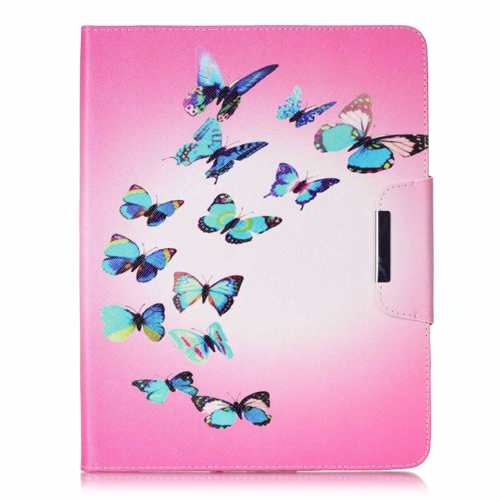Animal Magnet Smart Pu Leather Soft Silicon Case With Screen Protector Film Pen For Ipad 2 3 4