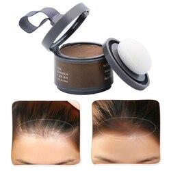 Mayjoy 4 couleur cheveux moelleux poudre instantanément racine noire couvrir naturel instantané ligne de cheveux ombre poudre cheveux correcteur Coverag