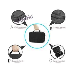 Image 4 - Snowhu Accessoires Draagbare Opslag Camera Grote Bag Case Voor Xiaomi Yi Action Camera Voor Go Pro Hero 9 8 7 6 5 4 3 SJ4000