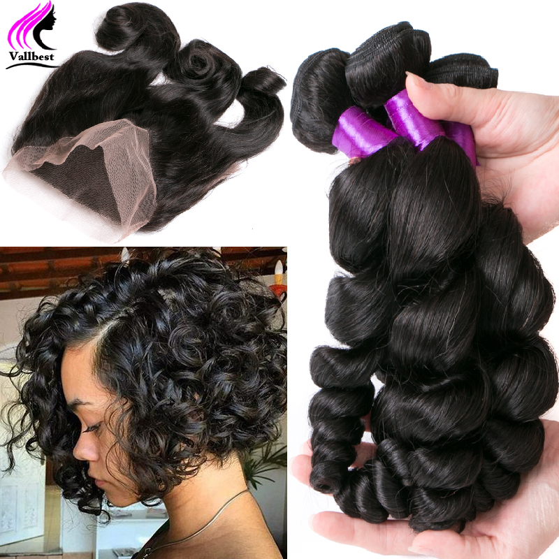 Buy Brazilian Virgin Hair With Frontal Closure Bundle 360