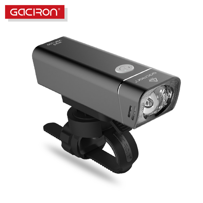 Gaciron Road Mountain bicycle light Bike Led light Wide floodlight 85 degree rechargeable IPX6 waterproof Cycling Accessories mountain bike four perlin disc hubs 32 holes high quality lightweight flexible rotation bicycle hubs bzh002