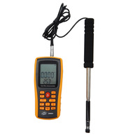 GM8903 Digital Anemometer Wind Speed Meter Anemometer Wind Speed GaugeTemperature Measure USB Interface