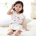 New born Baby 100% Cotton Sleeping Bag Kids Children Air condition Sleepsacks Size M
