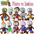 Hot 30 cm Plants vs Zombie Plants vs Zombies Brinquedos De Pelúcia Kawaii Plush Toys Stuffed Boneca Crianças Brinquedos infantis de Aniversário presente