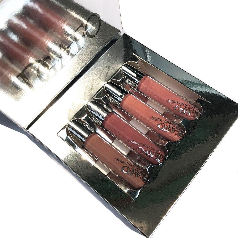 2018 New Women Makeup Vattentät Batom Tint Lip Gloss Red Velvet True - Smink - Foto 2