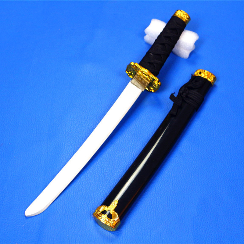 Cosplay Props Toys For Kids Dragon Sword Japanese Short Katana Short Blade Wooden Sword Amine Related Products Shana