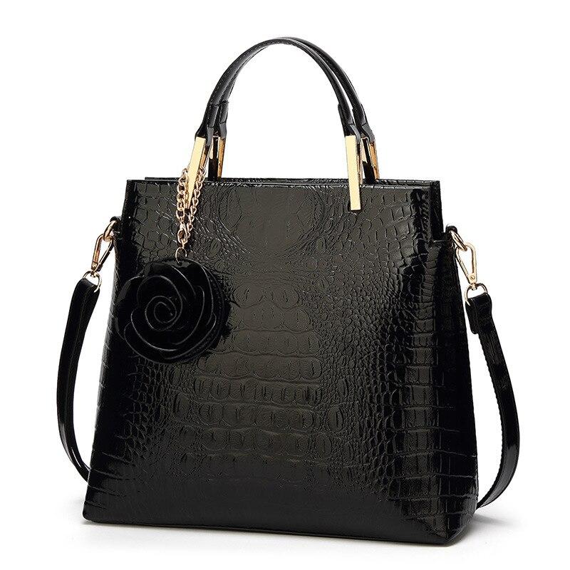 купить Luxury sac Patent Leather Handbags Women Bags Brand Designer Tote Bag Ladies Handbags Vintage Female Shoulder Bags Bolsas 2018 по цене 1623.67 рублей