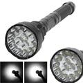 Professional T6 15*XML T6 Flashlight 15 LED 18000LM 5 Modes High Power Torch Flashlight Camping Light Travel Bike Lamp