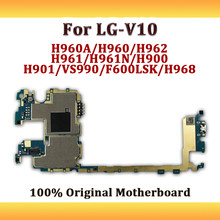Unlocked For LG V10 Motherboard H960A H962 H961N H900 H901 VS990 F600 H968 Mobile Electronic Panel Mainboard With Android System(China)
