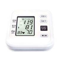 Arm blood pressure monitor medical equipment Health Care Sphygmomanometer Electronic Blood Pressure Heart Beat Meter Machine