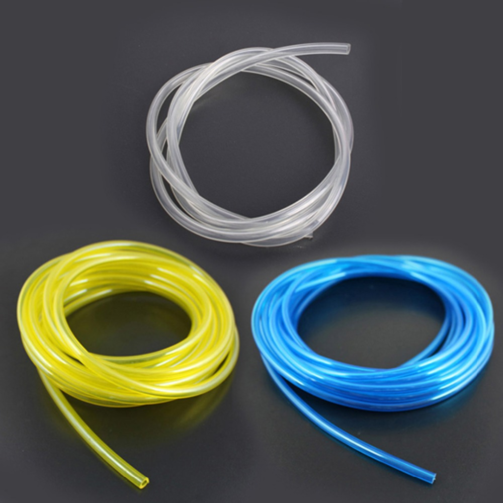 купить 1 Meter 4.8x2.5mm Fuel Line Fuel Pipe for RC Airplane Model Gasoline Nitro Engine по цене 103.36 рублей