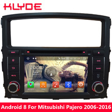 KLYDE 7 «Android 8 4 г Octa Core 4 ГБ Оперативная память 32 ГБ Встроенная память dvd-плеер автомобиля для Mitsubishi pajero V97 V93 2006 2007 2008 2009 2010 2011-2016