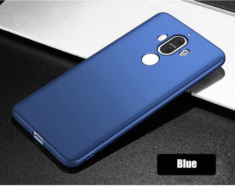 360 Full Cover Protection Case For Huawei Mate 8 9 9 Pro 10 Cover For Huawei Mate 9 9Pro Mate8 Case With Tempered Glass