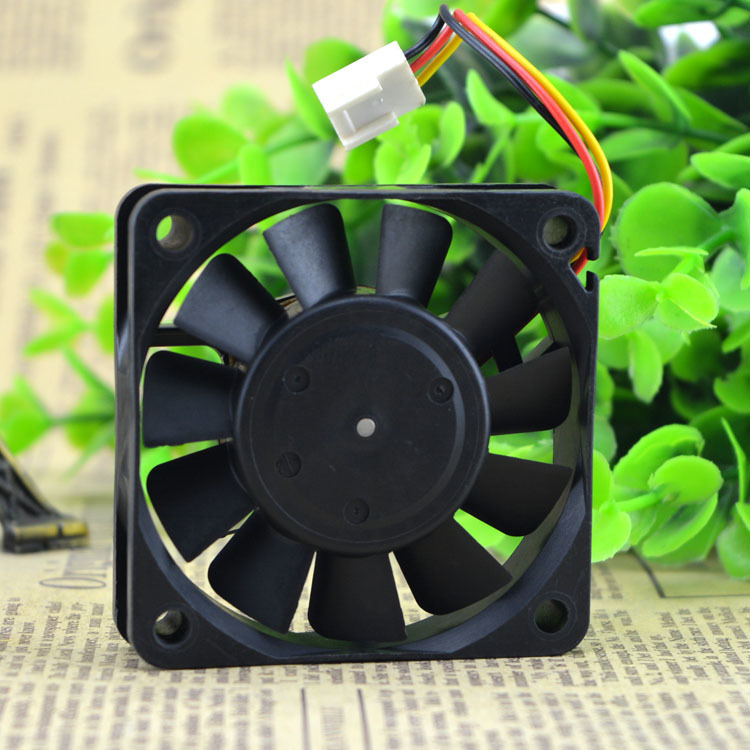 Original genuine NIDEC TA2250C R34487-57 6015 DC5V 0.31A 6cm 3 wire cooling fan