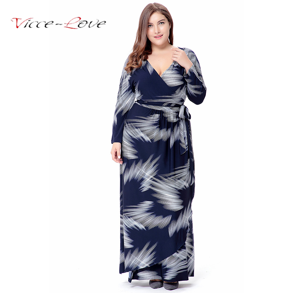 XL-6XL Large Size Dresses 2018 Spring Long Dress Big Size Elegant Casual Dresses Plus Size Women Clothing With Belt Vestidos подстаканник grampus laguna gr 7806
