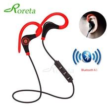 Roreta BT7 Mini Wireless Bluetooth Earphone Handsfree Call Stereo Headset With Mic Ear-hook Sports Earphones For iPhone XR