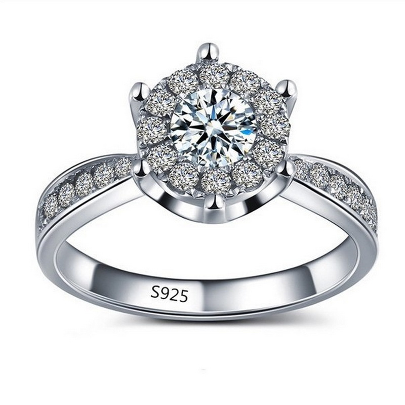 Unique Engagement Rings For Women: High Quality Unique Jewelry Hexagon Zircon Stone Ring
