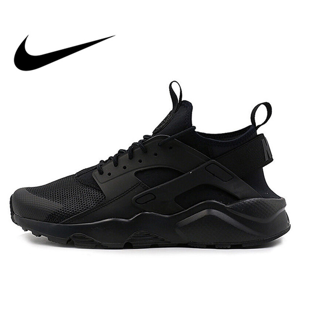 7a6d464026e10 Original NIKE AIR HUARACHE RUN ULTRA Men s Breathable Running Shoes  Sneakers Classic Tennis Shoes Outdoor Comfortable