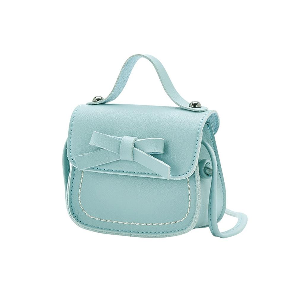Новинка, брендовые сумки-мессенджеры для малышей, сумки на плечо для девочек, сумки на плечо для принцесс, однотонные кошельки с бантиком для принцесс