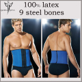 slimming body shaper underwear men latex corset rubber bustier fajas slimming sheath belt mens sexy bodysuit male shape wear