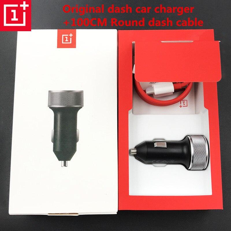 Original Dash Lade Auto Ladegerät mit Original 1 mt 1 + Dash typ-c Kabel schnelle Quick charge Für oneplus 6 t 6 5 3 t 3 Ein plus sechs