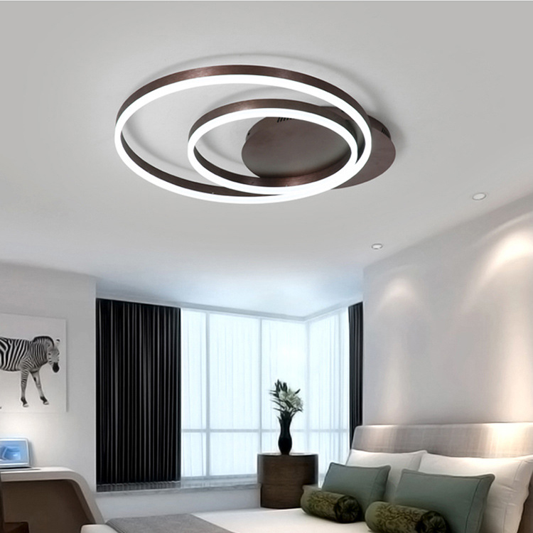 Modern LED ceiling lights aluminum remote control dimming lighting living room bedroom dining room study kitchen ceiling lamp Modern LED ceiling lights aluminum remote control dimming lighting living room bedroom dining room study kitchen ceiling lamp