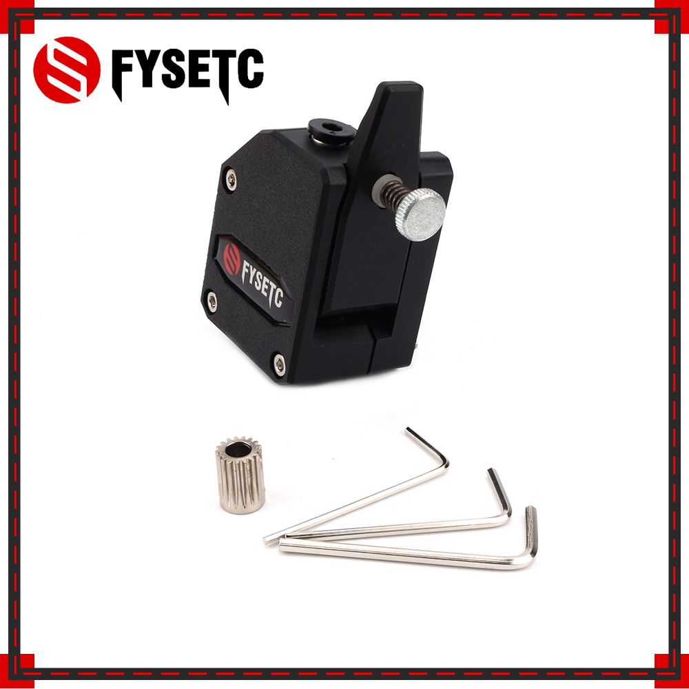 10Sets BMG Extruder Cloned Btech Bowden Extruder Dual Drive Extruder For Wanhao D9 Creality CR10 Ender