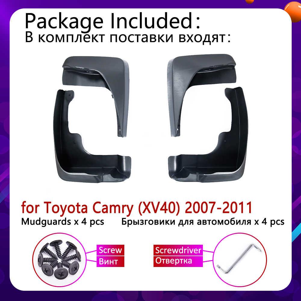 Für Toyota Camry XV40 Aurion Altis 2007 2008 2009 2010 2011 Mudflap Fender Kotflügel Schlamm Klappen Schutz Splash Flap Auto zubehör