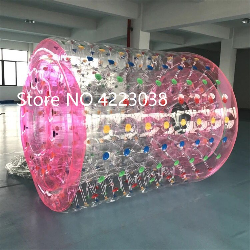 La piscine gonflable de rouleau de marche de l'eau flotte des jouets marchant sur la boule gonflable de rouleau de boule de roulement de l'eau pour le parc aquatique gonflable