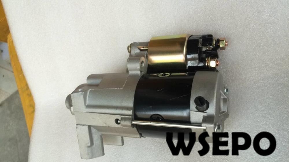 US $104 47 |OEM Quality! Electric Start Motor, Starter Fits for Predator  670cc 22HP V Twin Cylinder Horizontal Shaft Gasoline Engine-in Generator