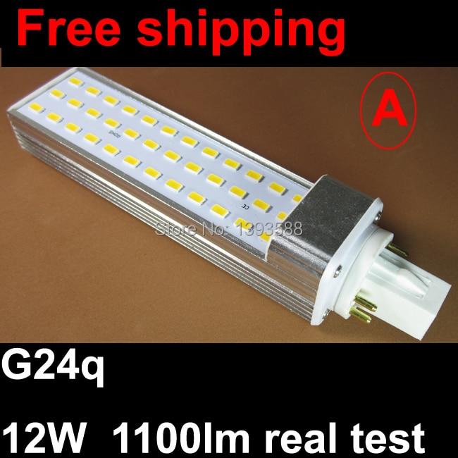 PF 0.9 4 pin g24q LED plc bulb light 12w 30led 5730 SMD G24 LED lamp Lighting AC85~265V warranty 3 years CE ROHS compatible projector lamp bulbs poa lmp136 for sanyo plc xm150 plc wm5500 plc zm5000l plc xm150l
