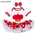 Lace Cupcake Applique 1 Year Girl Baby Dress Headband Vestido Bebe Party Dresses For Girls Clothes Toddler Birthday Outfits