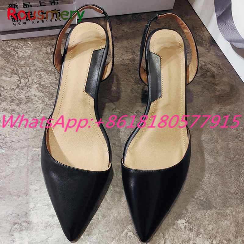 Elegant Office Lady Chunky High Heels Woman Pumps Spring Autumn Pointed Toe Slip-On Zapatos Mujer Tacon Ankle Strap Woman Shoes