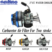 49cc 50cc 60 66 80cc 2 Stroke Carburetor Air Filter Carb Fit two stroke Motorized Bike Bicycle mini Motor bike ATV