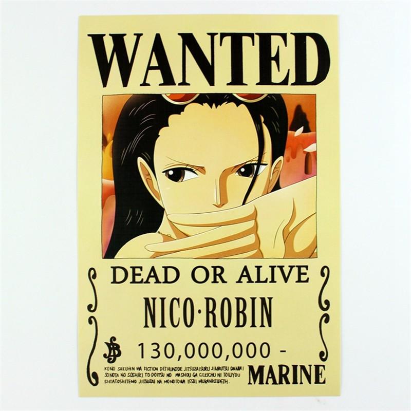 nico robin bounty 130,000,000