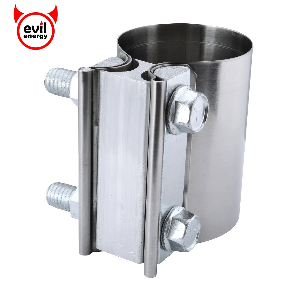 EVIL ENERGY 3.0 V Band Exhaust Clamp Stainless Steel Universal