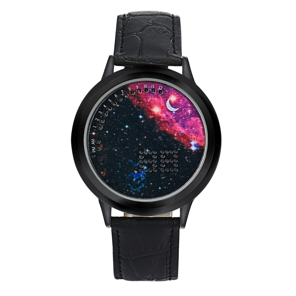 Superior NEW Women Men Girl Boy Touch LED Electronic Universe Multifunctional Sports Watch