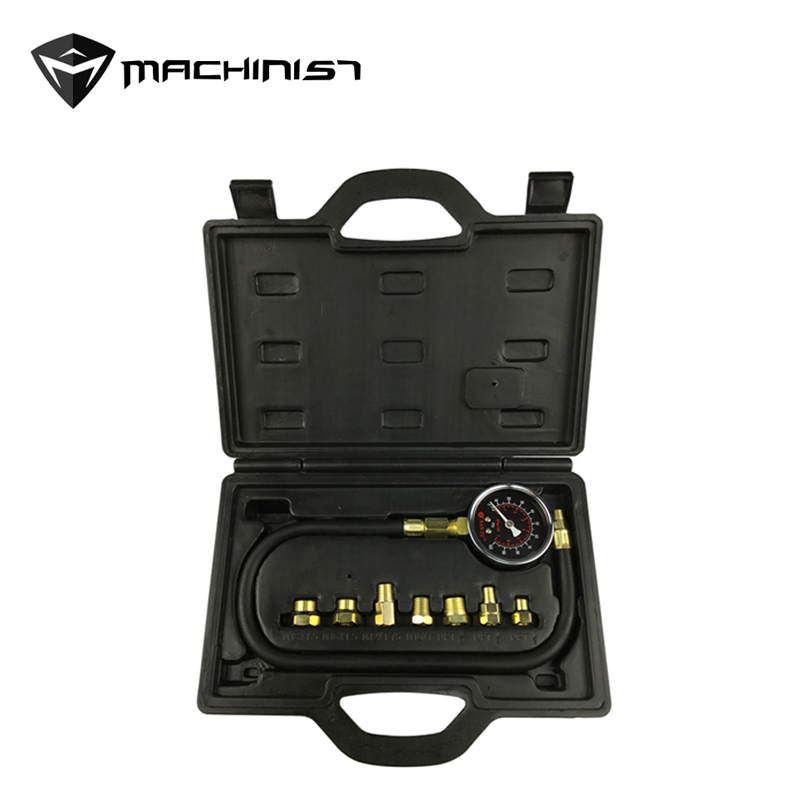 1 Set Olie Injector Druk Tester Tool Gauge Auto Injectie Benzine Gas Test Ny-jb12-2