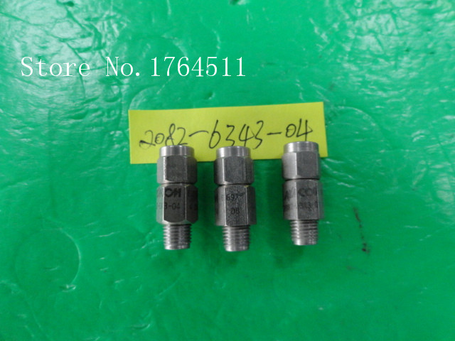 [BELLA] M/A-COM 2082-6343-04 DC-8GHZ 4dB 2W RF Coaxial Fixed Attenuator SMA  --5PCS/LOT
