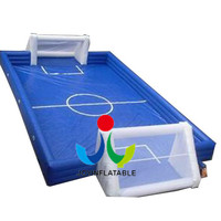 Giant Inflatable Football Field for Kids,Inflatable Soccer Arena,Inflatable Football Pitch for Bubble Balls on Sales