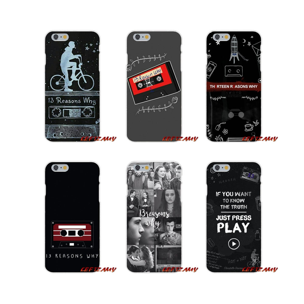 Thirteen <font><b>13</b></font> <font><b>Reasons</b></font> <font><b>Why</b></font> Quotes Luxury Cell <font><b>Phone</b></font> <font><b>Cases</b></font> For Xiaomi Mi6 Mi 6 A1 Max Mix 2 5X 6X Redmi Note 5 5A 4X 4A 4 3 Plus Pro image