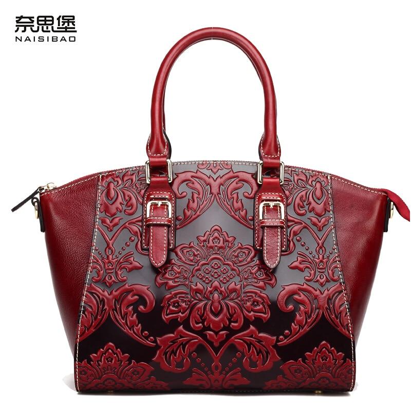 2016 new women genuine leather bag retro fashion chinese style quality cowhide embossing luxury women handbag shoulder bag пена монтажная soudal стройка и ремонт зимняя 750 мл