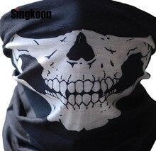 Hot Sell Motorcycle Mask Balaclava Face Masks Neck Scarf Skull Ghost Biker Motorbike Cycling Fishing Climbing Shield