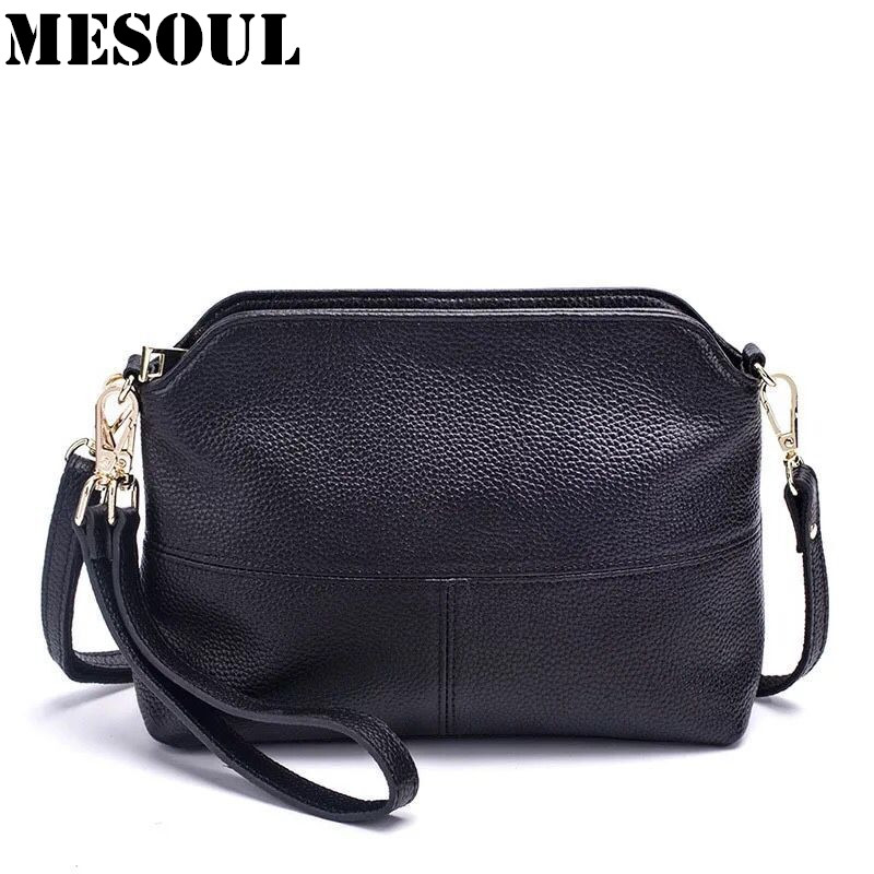 Women's Shoulder Bags Genuine Leather Handbag Female Casual Crossbody Bag Ladies Small Messenger Clutches Fashion Tote Bag Purse women genuine leather tote bag set top handle big capacity female tassel handbag fashion shoulder bag purse ladies crossbody bag