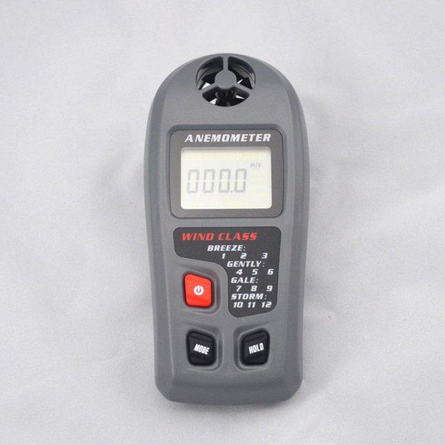 MT-20 Digital Anemometer Large LCD Display Wind Speed Meter 0 ~ 30m/s Anemometer Portable Hand-held Measure Tool