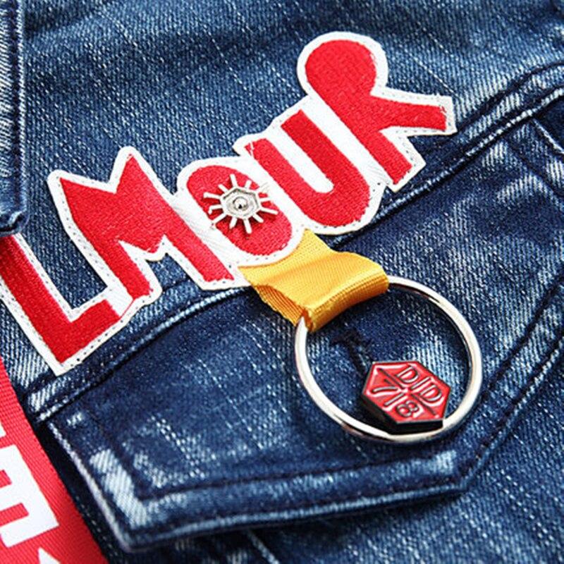 Xy111 Imprimer As Longues Automne Lettre À Manteaux Manches Jeans Show Style Patch Vestes 2018 Designs Rouge Capuchon Shorts Femme Tops Harajuku 0U4Zn4qHv
