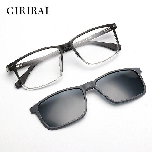 7a65c41d4ce4 UV400 Men Sunglass Dual purpose night driving brand TR90 mirror glasses  #LJ-808