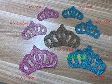 1 Piece Crown Patch DIY Cloth Badges For Newborn Baby Clothes Decoration Applique Patches